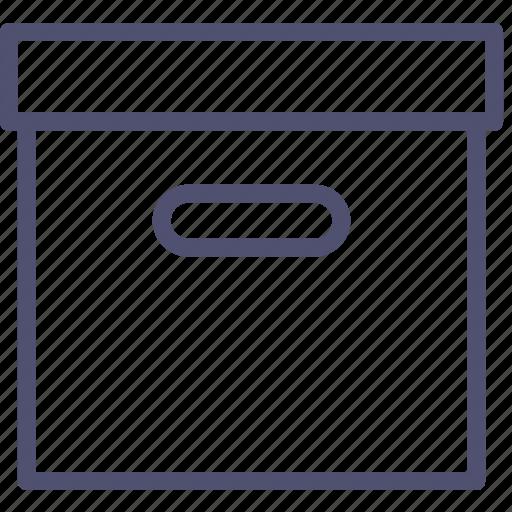 archive, box icon