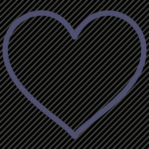 favorite, heart, in, like, love icon