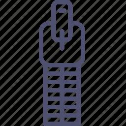 archive, compress, line, zip icon