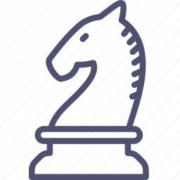 chess, figure, games, knight, strategy icon