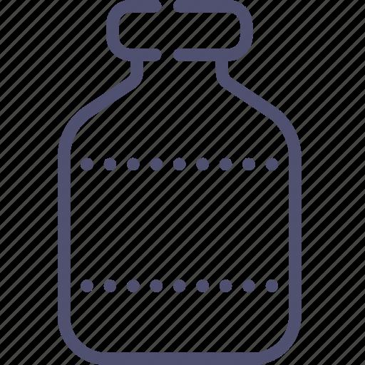 bottle, flask icon