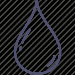 blood, drib, drop, water icon