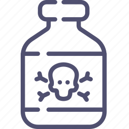 drug, medicine, poison icon