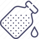 bottle, drop, flask icon