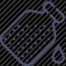 bottle, drop, flask icon