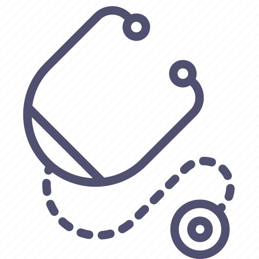 doctor, hospital, medicine, stethoscope icon