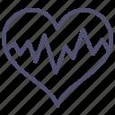 medicine, cardiogram, pulse, heart