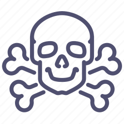bone, bones, danger, death, high, jolly, medicine, poison, roger, skull, voltage icon