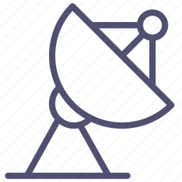 antenna, building, communication, radar, satelite icon