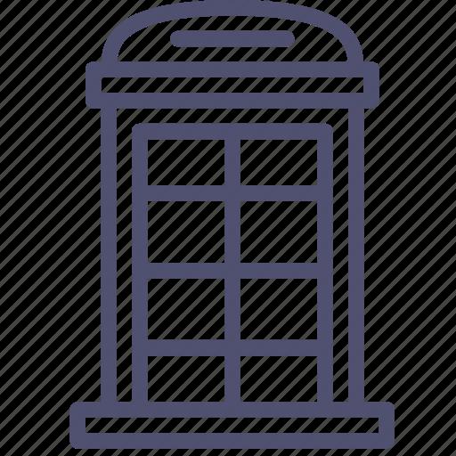 booth, box, call, phone, telephone icon