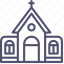 building, catholic, church, holy, religion icon