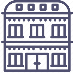 apartment, building, hotel icon