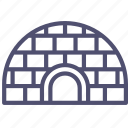 icehouse, igloo icon