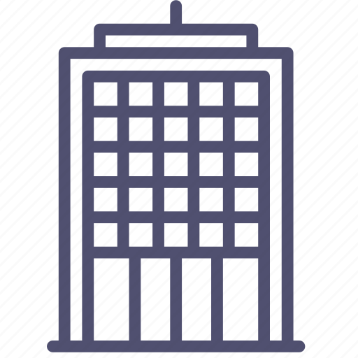 building, commercial, company, office, skyscraper icon