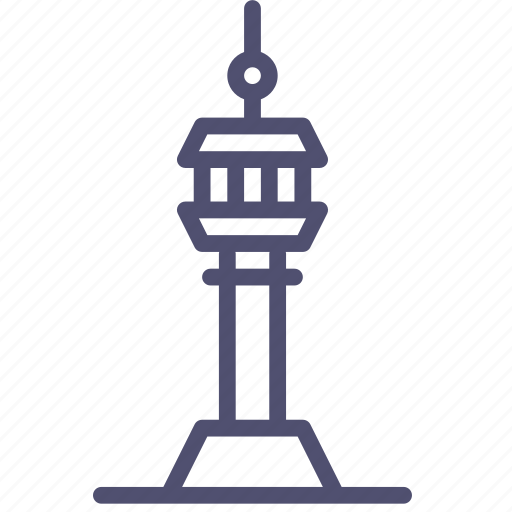 tower, tv icon
