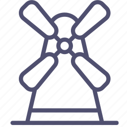 agriculture, farm, mill, village, windmill icon
