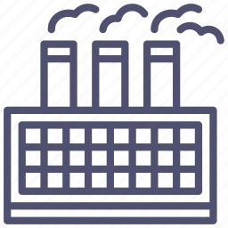 factory, industrial, industry, manufacturer, refinery icon