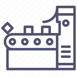 factory, industrial, industry, manufacturer, production icon