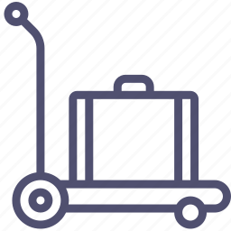 baggage, luggage icon
