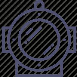 aquatic, dive, diving, helm, marine, nautical icon