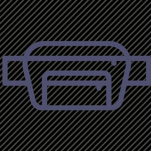 bag, belt icon