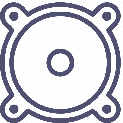 audio, bass, monitor, music, sound, speaker, subwoofer icon