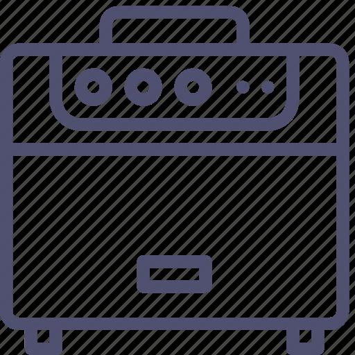 amp, amplifier, audio, guitar, music, radio, sound, speaker icon