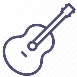 acoustic, audio, guitar, instrument, music, sound icon