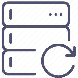 backup, base, data, database, rack, refresh, reload, server icon