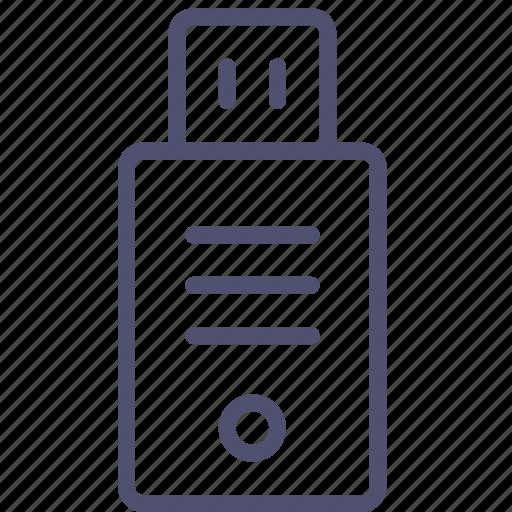data, device, disk, drive, flash, flashdrive, storage, usb icon