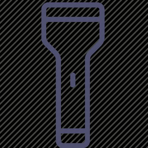 battery, bulb, electric, flash, flashlight, light icon