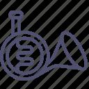 horn, instrument, music, trumpet