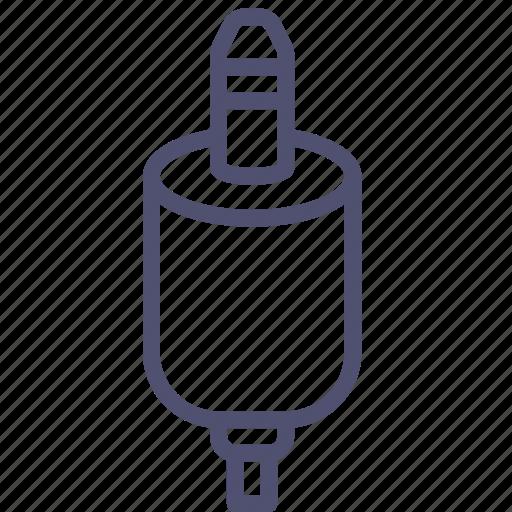 audio, cable, connector, jack, mini, music icon