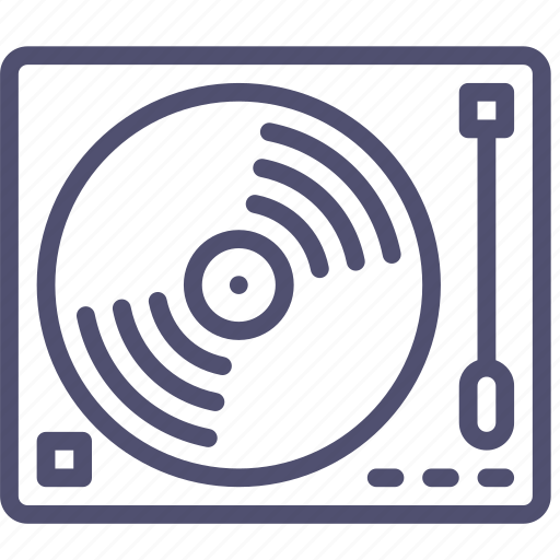 analog, audio, dj, music, sound, turntable, vynil icon
