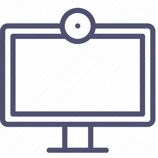 broadcast, camera, channel, device, entertainment, hd, television, tv, watch, webcam icon
