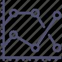 analytics, chart, statistics, graph icon