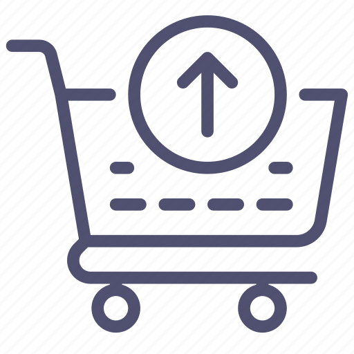 basket, buy, cart, check, checkout, ecommerce, out, put, remove, shop, shopping, store icon