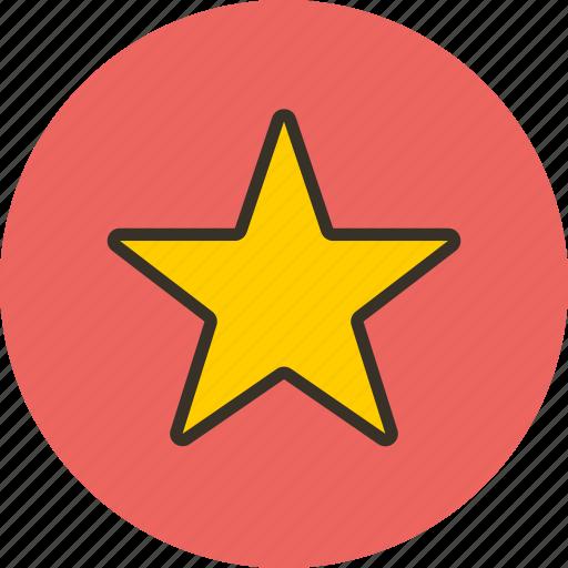 achievement, award, favorite, star icon