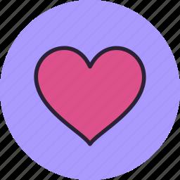 favorite, heart, in love, like icon