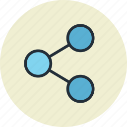 communication, connect, connection, export, link, network, share icon