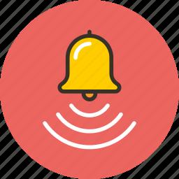 alarm, bell, notice, notification, notify, ring icon