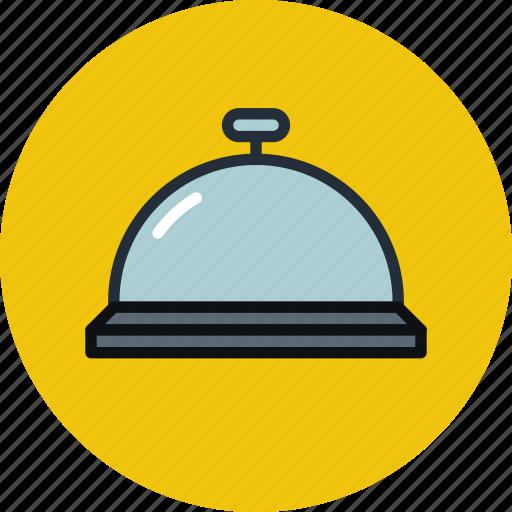 alarm, bell, hotel, notice, notification, notify, ring icon