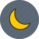 mode, moon, night, sleep icon