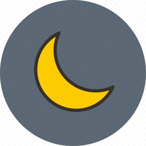 mode, moon, night, sleep icon