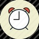alarm, clock, time