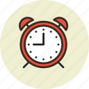 alarm, clock, time, wake-up icon