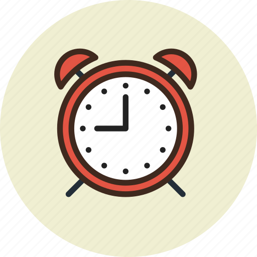 alarm, clock, time, wake-up icon