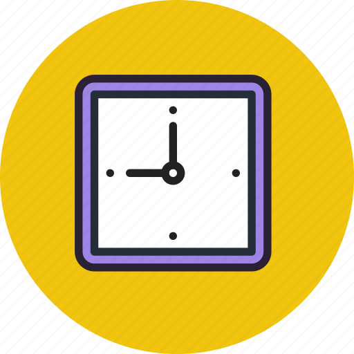 clock, date, time, watches icon