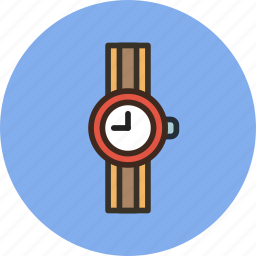 accessory, clock, time, watch, wrist icon