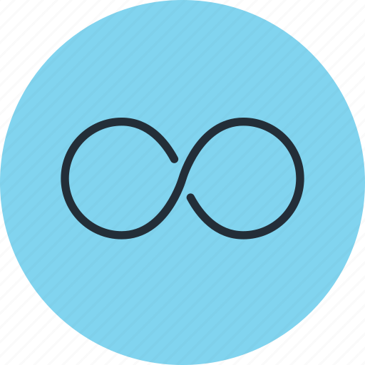 continium, continius, cycle, infinity, loop, time icon